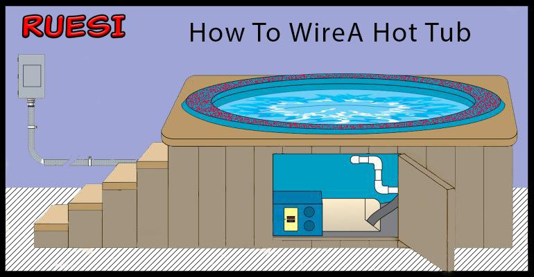 How to wire a hot tube